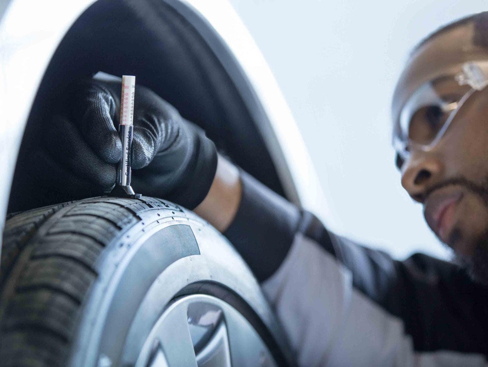 Tire pressure inspection