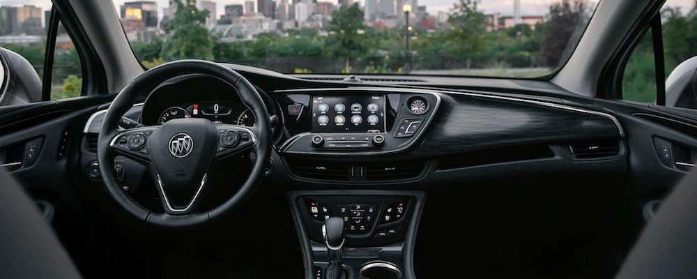 2020 Buick Envision Front Interior