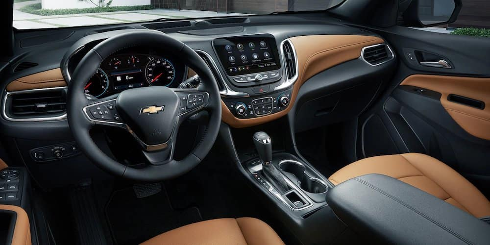 2020 Chevrolet Equinox Front Dash and Interior