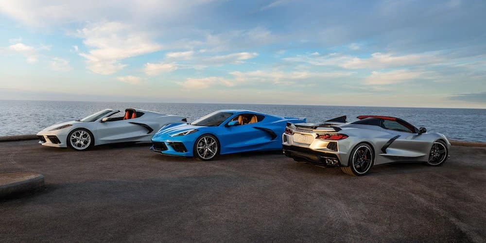 2020 Chevy Corvette Models By Water