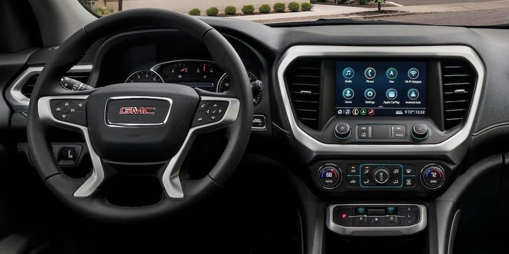2020 GMC Acadia Dashboard