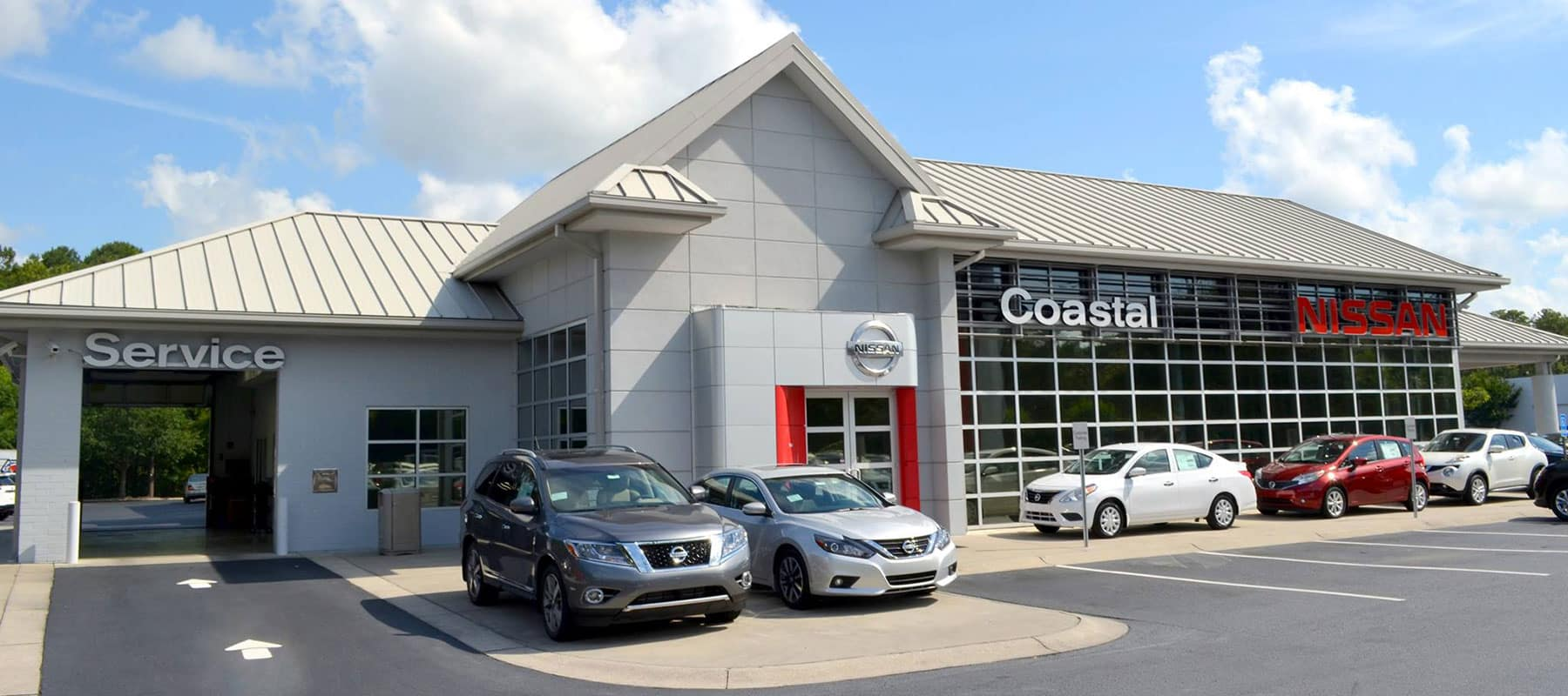 Costal Nissan exterior picture
