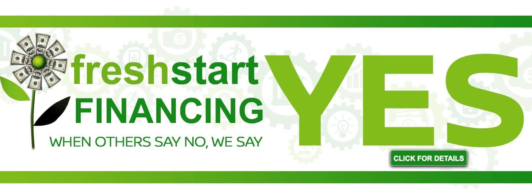Fresh Start Financing