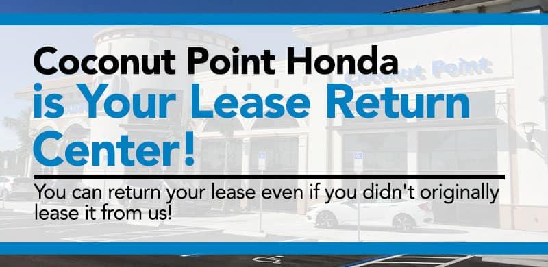 Coconut Point Honda Lease Return