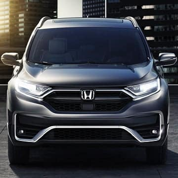 honda SUV front end