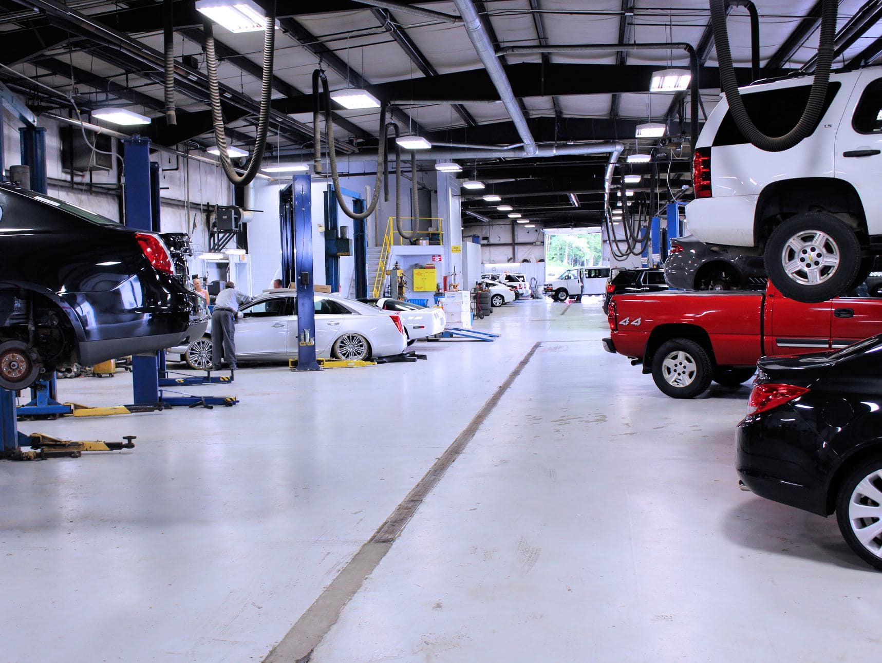 parts and service center