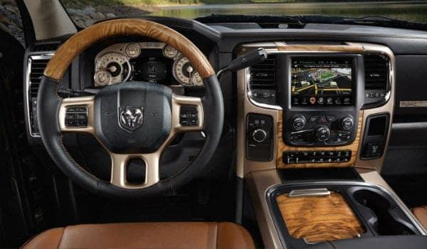 2017 RAM 2500 interior