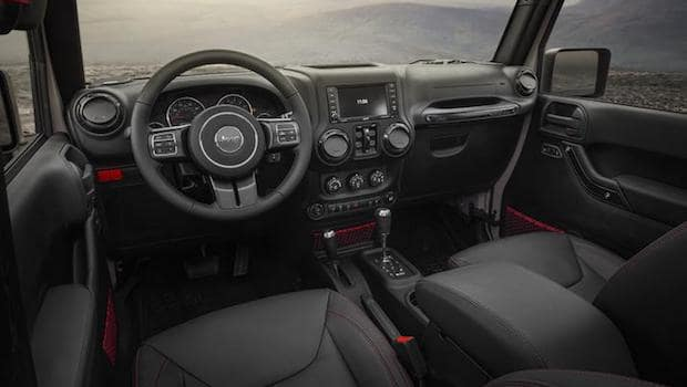 2018 Jeep Wrangler interior