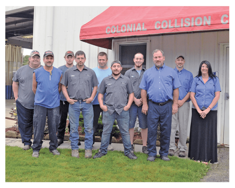 Collision Center staff