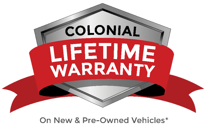 Colonial LIfeTime Warranty logo