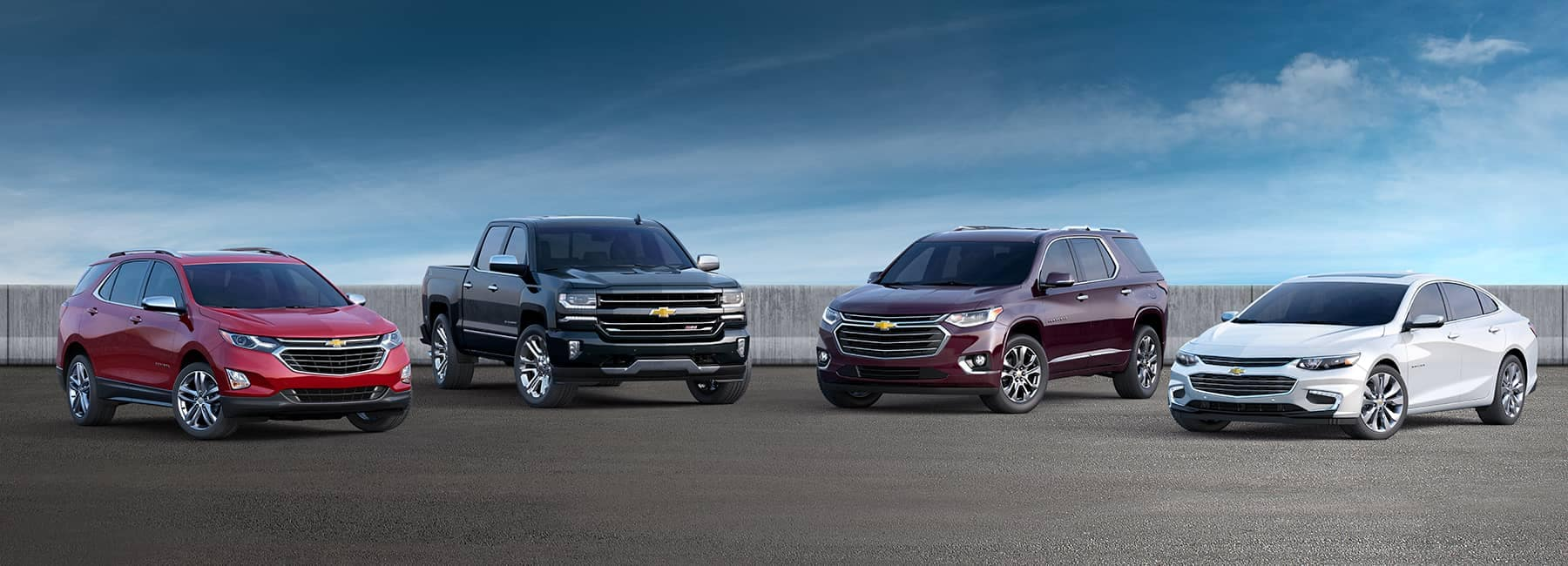 2018 Model Lineup Chevy Cars and Trucks