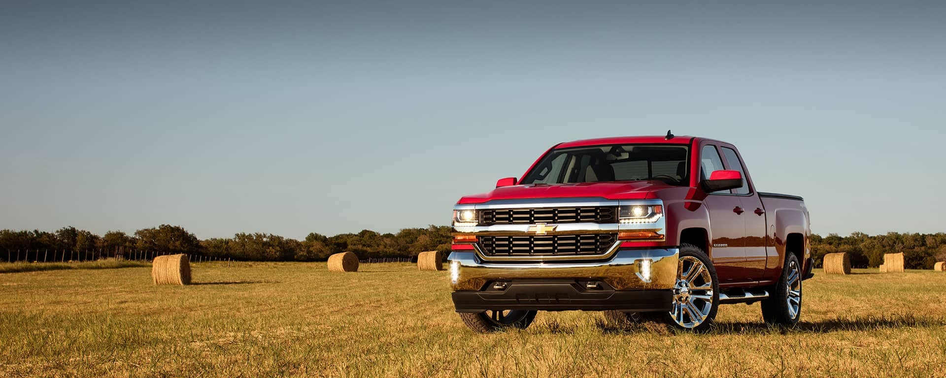 2018 Silverado 1500 Parked in a Field