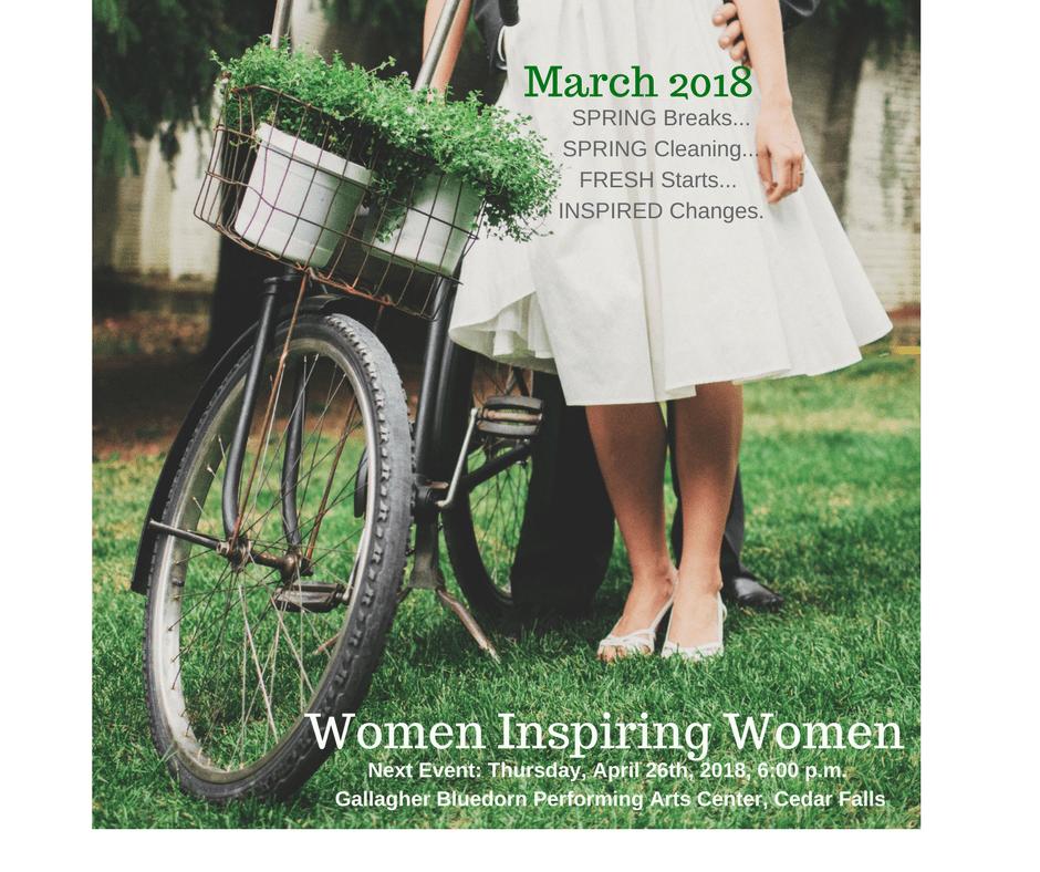 Women Inspiring Women March 2018