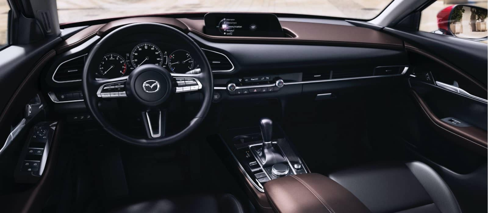 2021 Mazda CX-30 front interior
