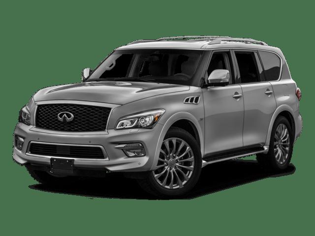 2017 QX80 silver INFINITI