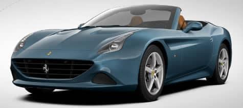 Ferrari California T Blu Abu Dhabi