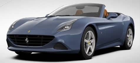 Ferrari California T Blu Mirabeau