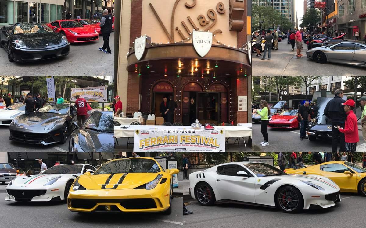 Italian Village 20th Annual Ferrari Festival - Chicago, IL
