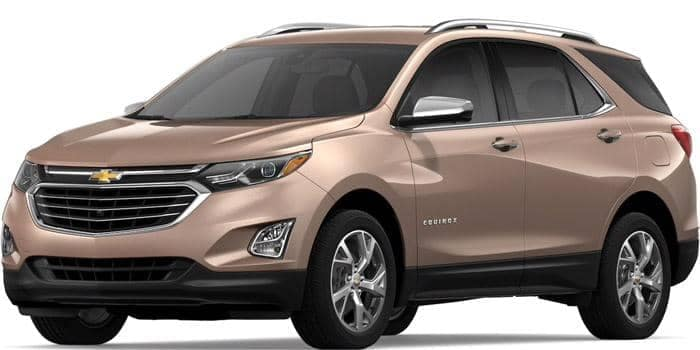 2019 Chevy Equinox Sandy Ridge Metallic