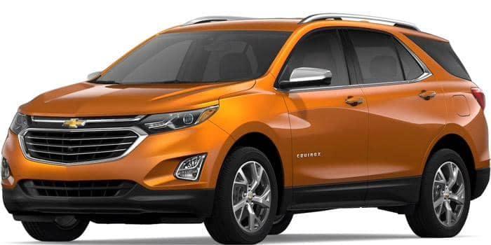 2019 Chevy Equinox Orange Burst Metallic