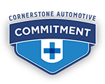 Cornerstone Automotive Commitment Logo