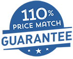 110% Price Match Guarantee Logo