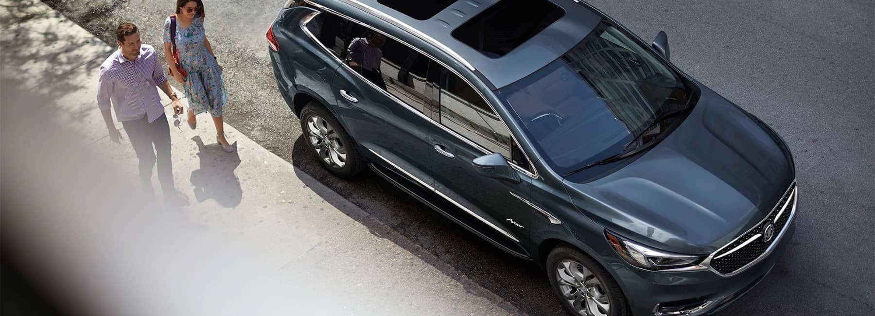 2020 Buick Enclave mid-size luxury SUV MOV Gallery birds eye view image