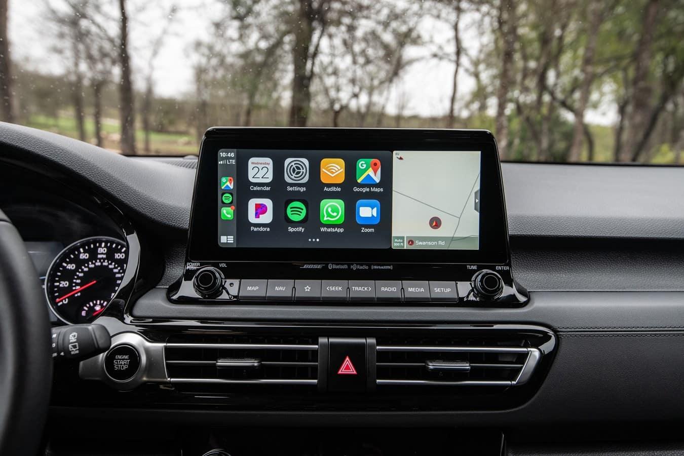 2022 Kia Seltos Apple CarPlay Cowboy Kia