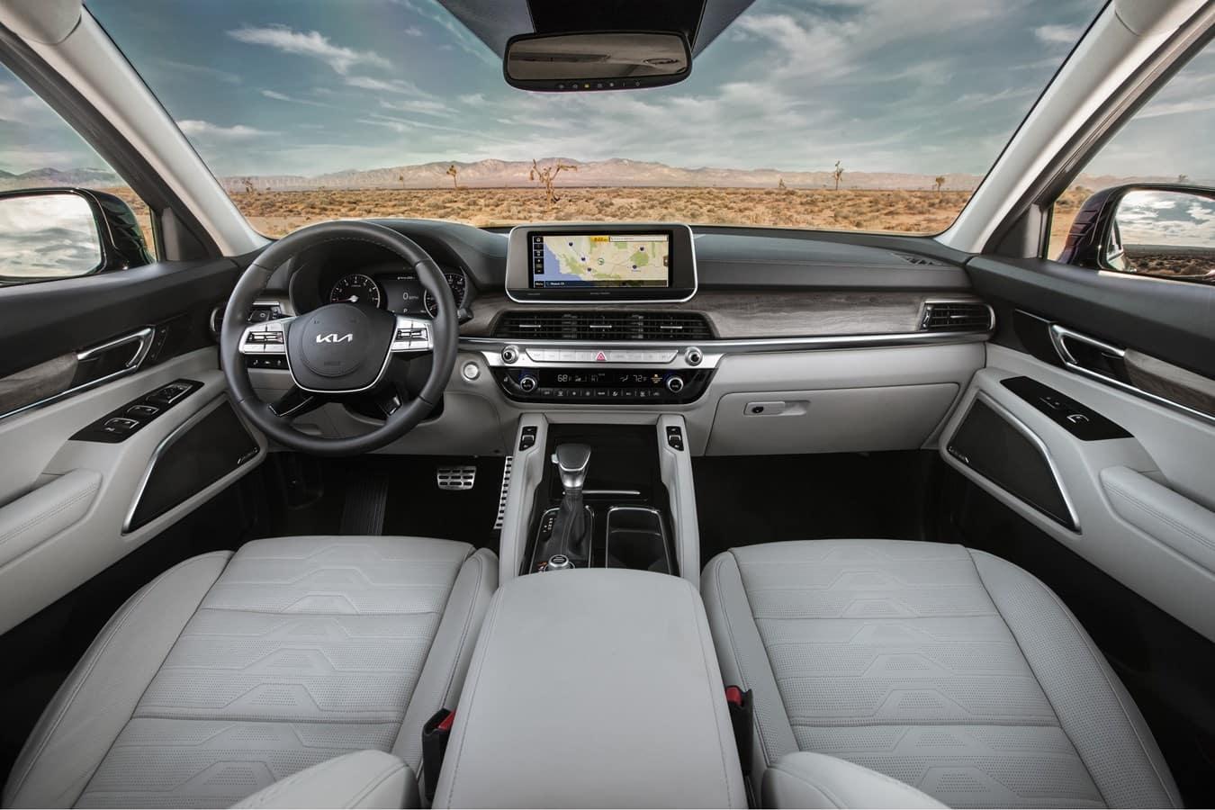 2022 Kia Telluride interior Cowboy Kia