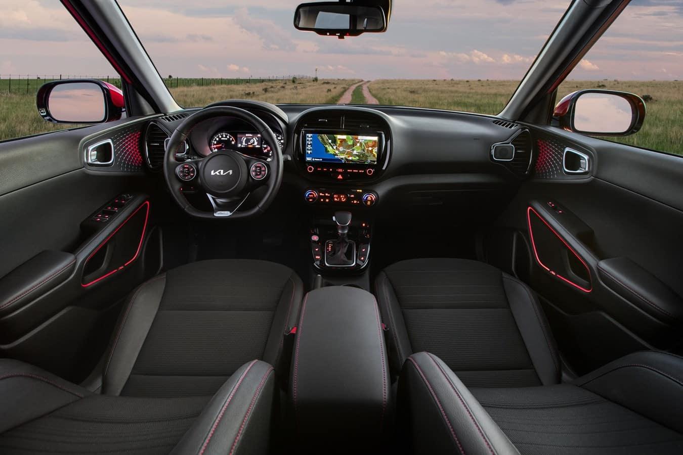 2022 Kia Soul interior Cowboy Kia