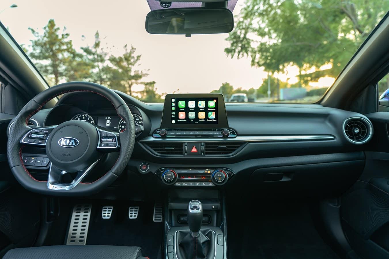 2021 Forte GT Sport interior