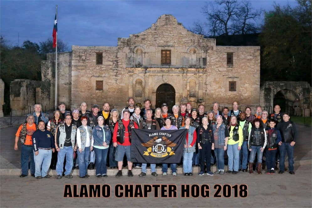 Alamo Chapter Hog 218
