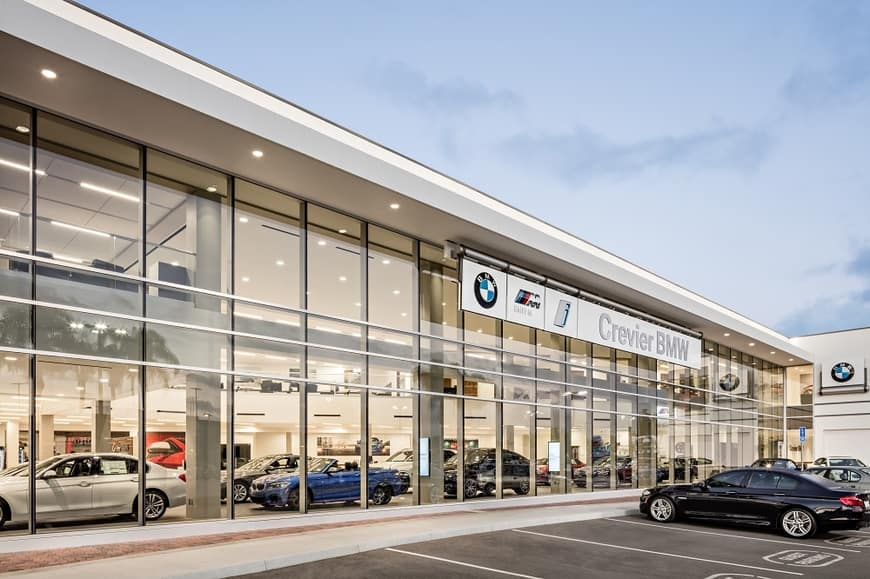 The Exterior of Crevier BMW