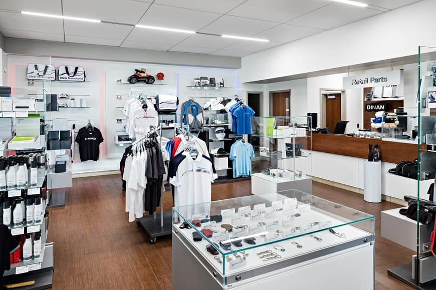 The Parts and Accessories Store at Crevier BMW