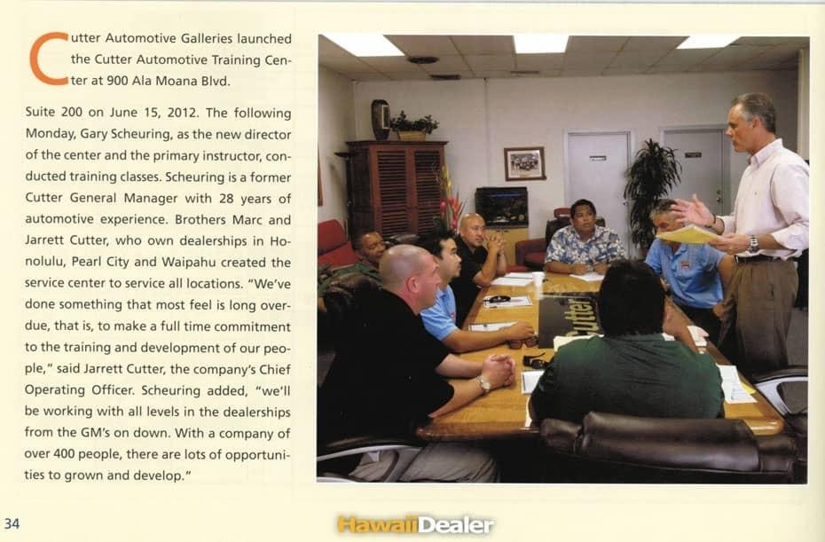 Cutter Automotive Training Center