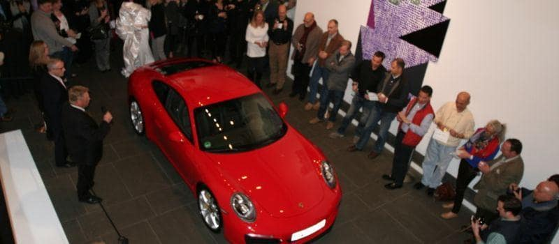 The unveiling of the new 911