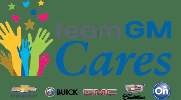 Team GM Cares banner