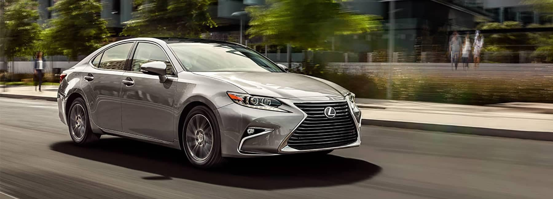 2017 Lexus ES Driving Down the Road