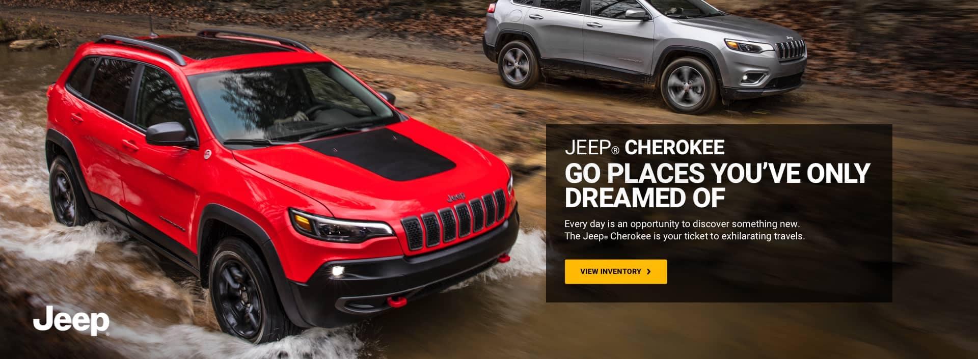 Jeep Cherokee banner