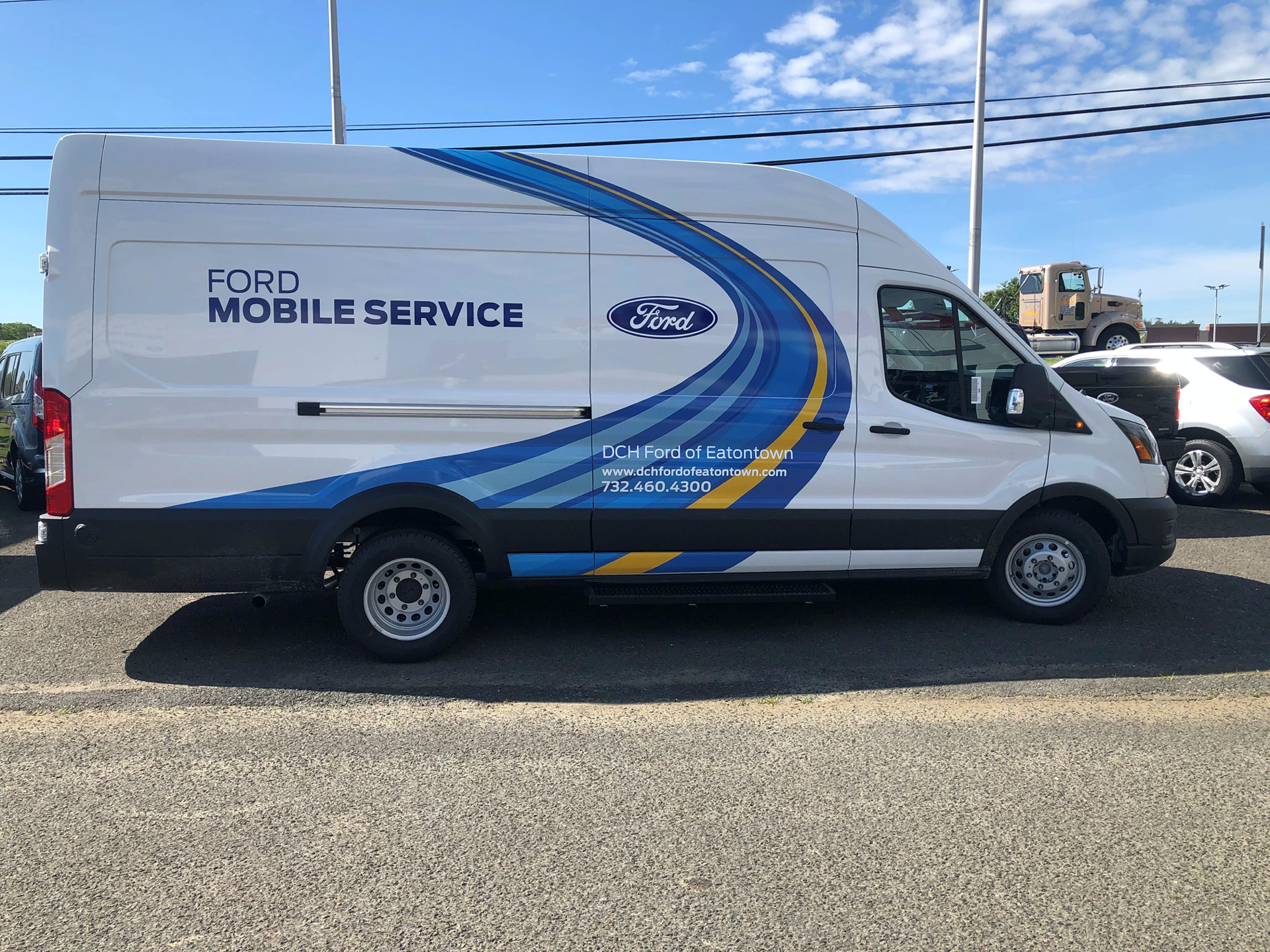 DCH-Ford-Mobile-service van parked in lot