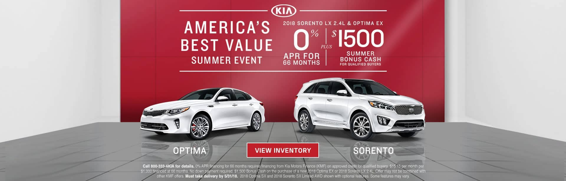 Americas Best Value SSE Optima Sorento