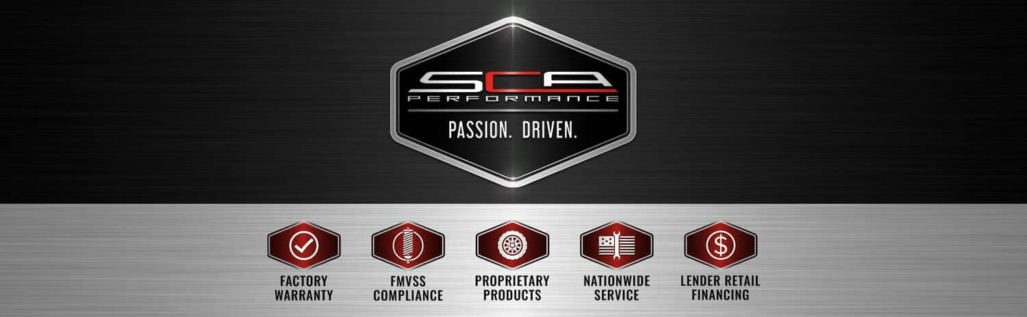 SCA Performance Banner - Passion Driven