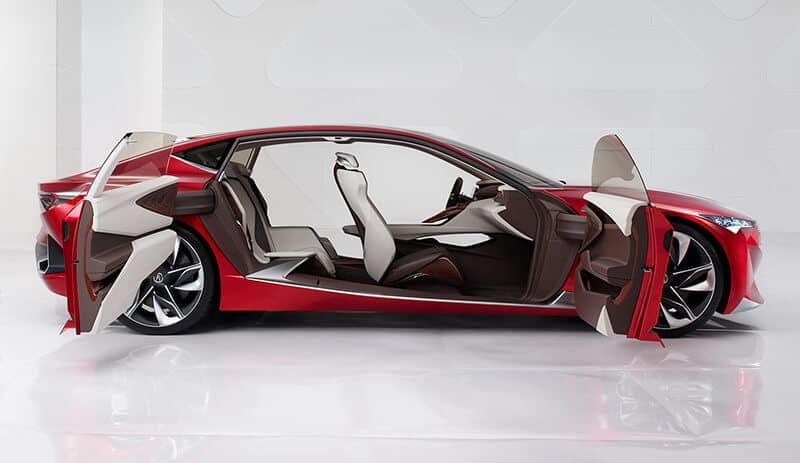 Acura Precision Concept: Prestigious Styling