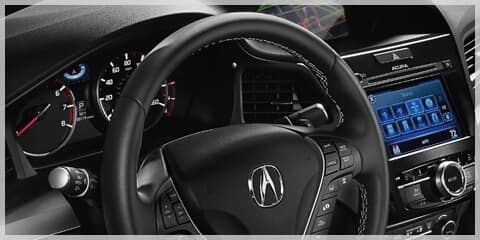 Acura CPO Leather-Wrapped Steering Wheel