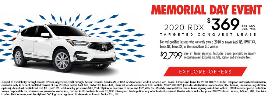 2020 rdx lease offer