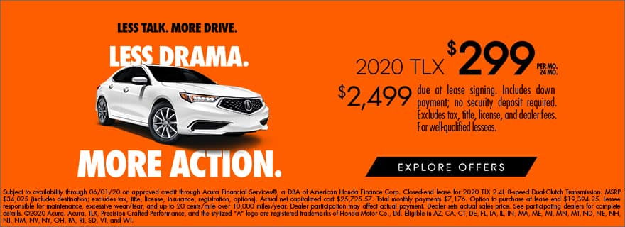 TLX Region A 24 Month Lease
