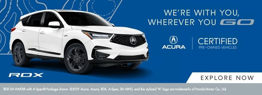 Acura CPO Vehicles