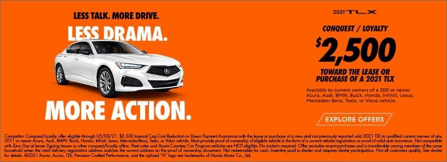 2021 Acura TLX Loyalty Cash