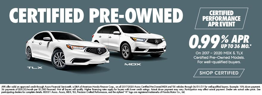 Acura CPO special offer