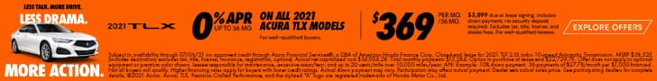 2021 Acura TLX offer